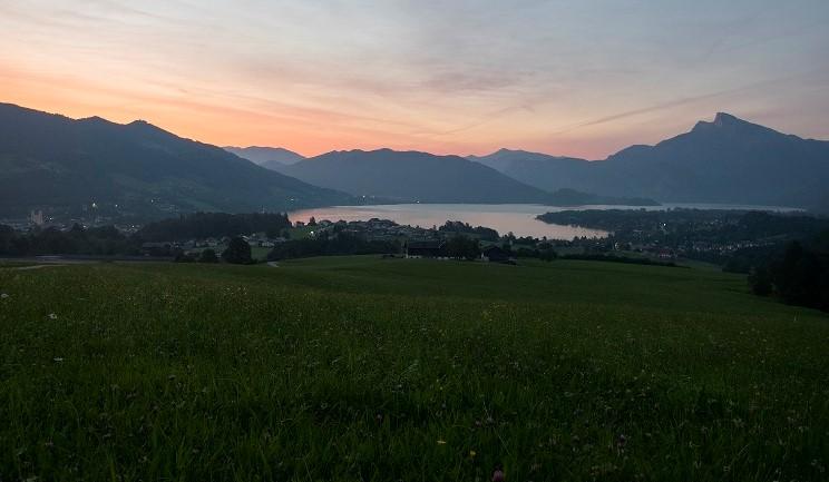 Mondsee Panoramafoto