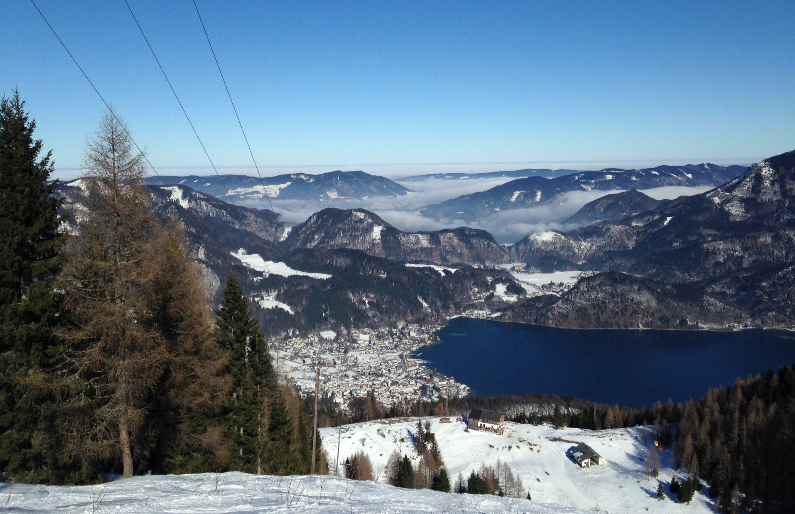 St. Gilgen Wolfgangsee Panoramafoto