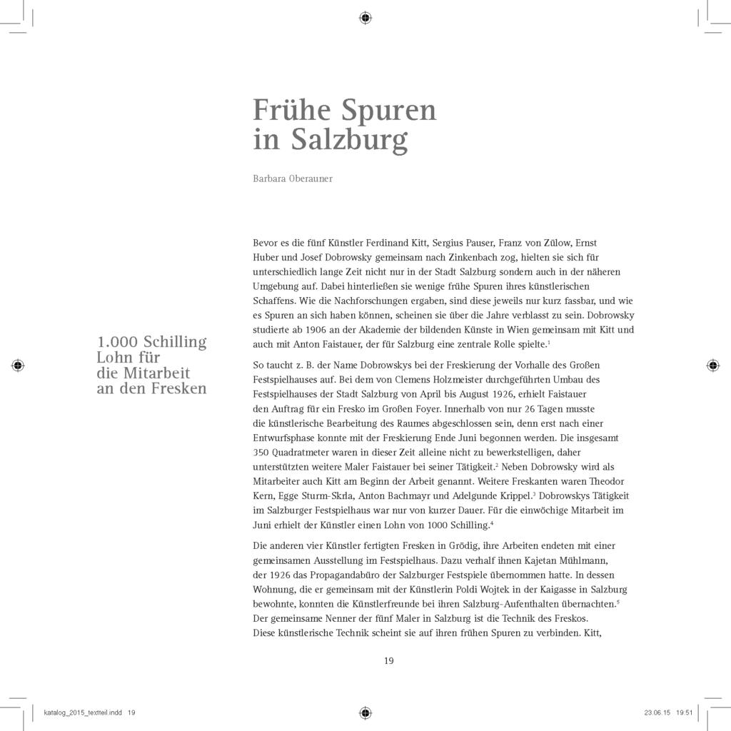 Frühe Spuren in Salzburg 2
